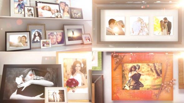 Videohive Frames Slide Show 10817474