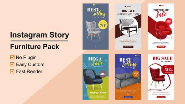 Videohive Furniture Instagram Stories V11 27746002