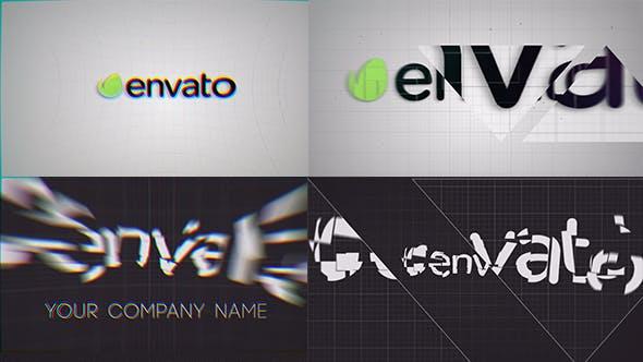 Videohive Glitch Logo 11967338