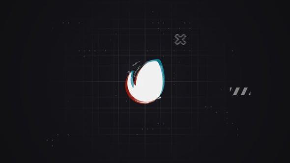 Videohive Glitch Logo 23180333