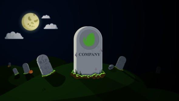 Videohive Halloween Logo Reveal Pack 20796743