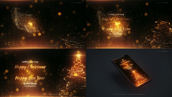 Videohive Happy Christmas and New Year 29679403