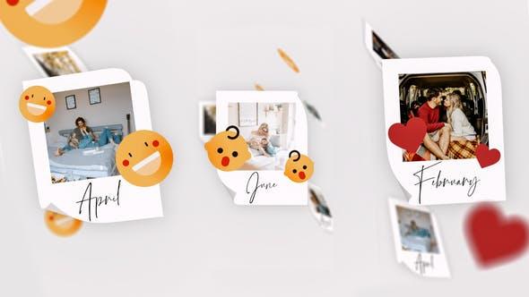 Videohive IGTV - Simple Memories Slideshow 28015238