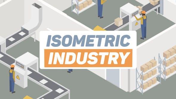 Videohive Isometric Industry 24401244