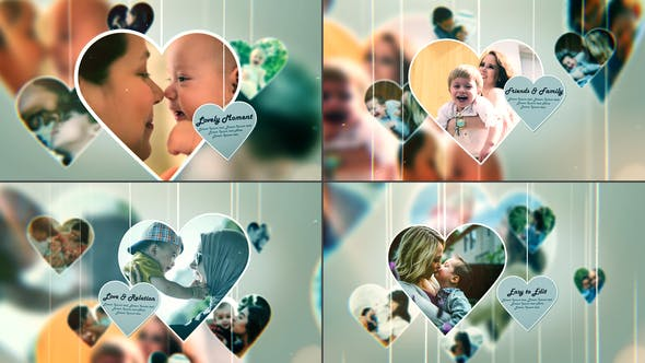 Videohive Lovely Moment - Happy Family Moment - Photo Slideshow 28403694