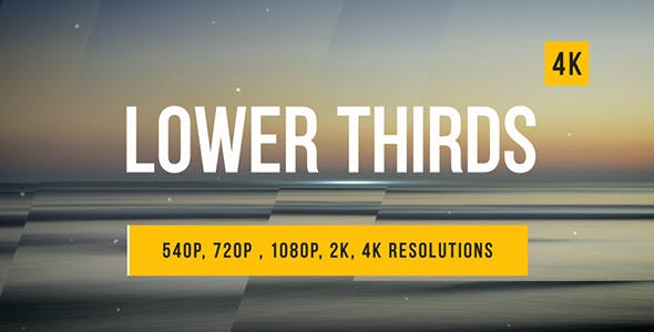 Videohive Lower Thirds 14954551