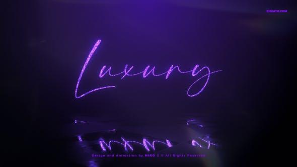 Videohive Luxury Logo Reveal 30347796