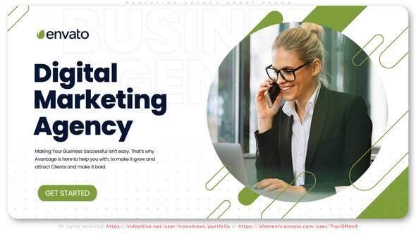 Videohive Marketing Agency Smart Promo 28538624