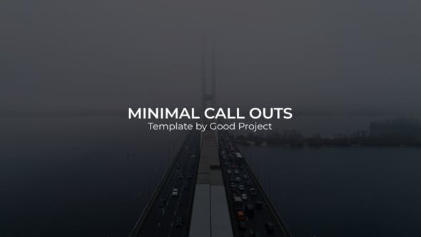 Videohive Minimal Call Outs 24728158