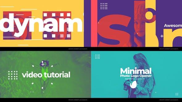 Videohive Minimal Photo Logo Opener 25570312