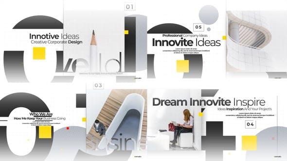 Videohive Modern Minimal Corporate Opener 24226821