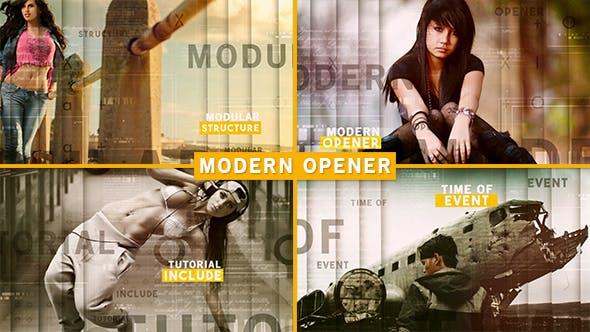 Videohive Modern Opener 16363888