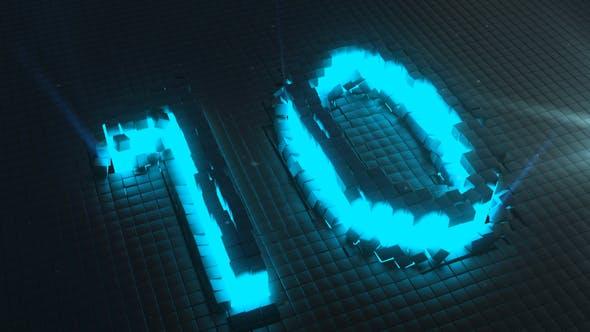 Videohive Neon Countdown 24351437