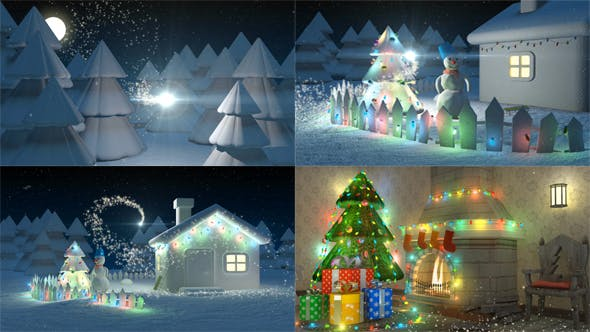 Videohive New Year Greeting Card 20932834