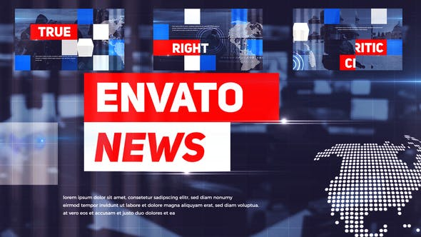 Videohive News Opener 23375397