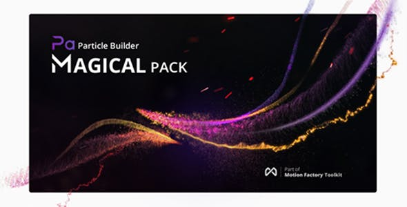Videohive Particle Builder - Magical Pack Magic Awards Abstract Particular Presets 20004075