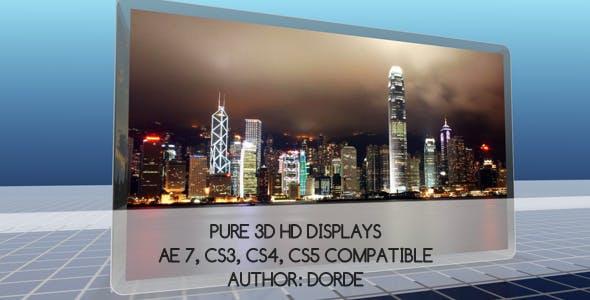 Videohive Pure 3D HD Displays 68765