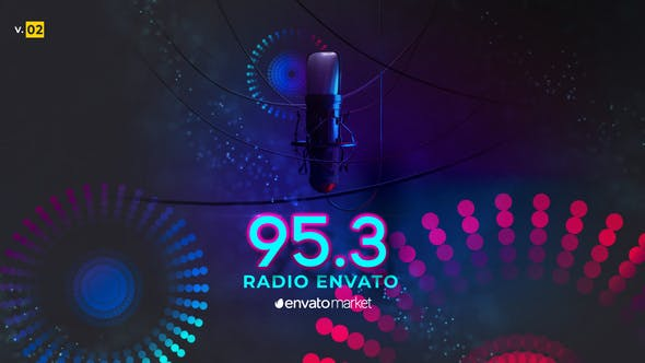 Videohive Radio Logo Opener 0.2 24542867