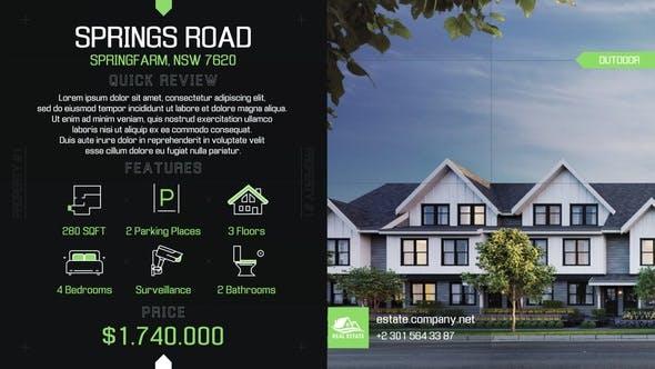Videohive Real Estate Minimal Tech 28276800