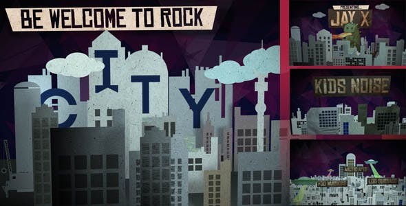 Videohive Rock City Band Promo 9847691