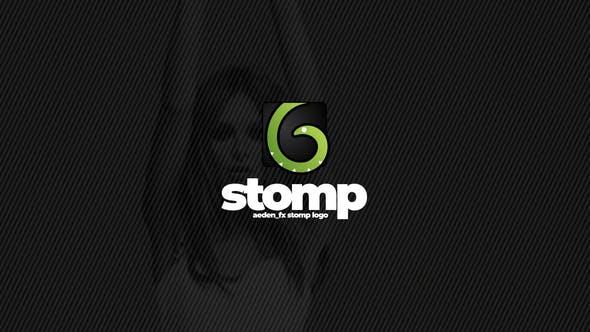 Videohive Stomp Logo Opener 23636334