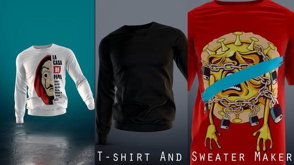 Videohive T-shirt And Sweater Maker 27979660