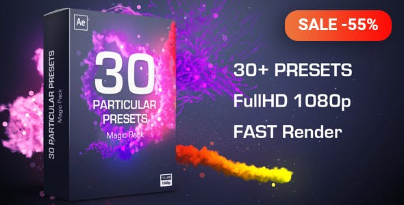 Videohive Trapcode Particular Free Script Download - Magic Pack Presets 10201327