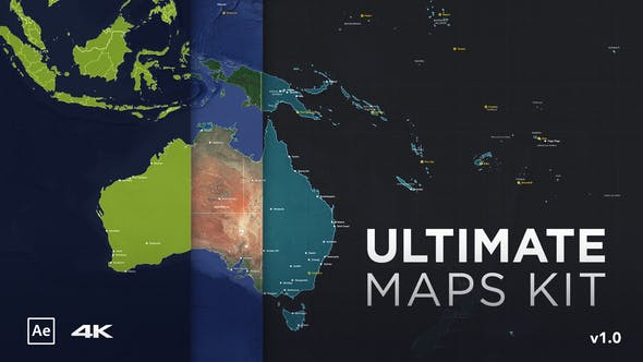 Videohive Ultimate Maps Kit 27148301