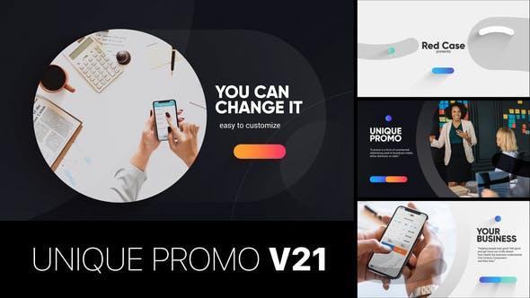 Videohive Unique Promo v21 - Corporate Presentation 22621643