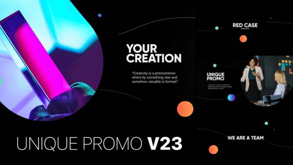 Videohive Unique Promo v23 - Corporate Presentation 22920261