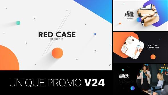 Videohive Unique Promo v24 - Corporate Presentation 23310563