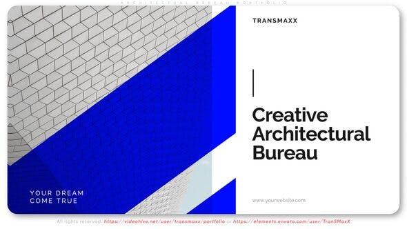 Videohive Architectural Bureau Portfolio 27383199