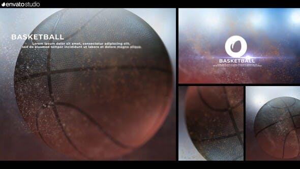 Videohive Basket Ball Logo 24589855