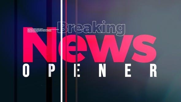 Videohive Breaking News Opener 28346742