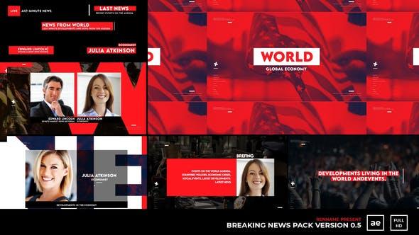 Videohive Breaking News Pack V 0.5 27929468