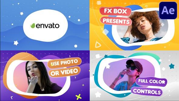 Videohive Colorful Slideshow 30186405