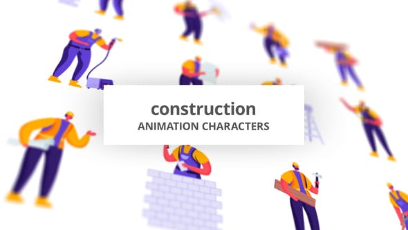 Videohive Construction - Character Set 28672345