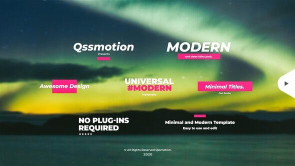 Videohive Creative and Modern Titles 28678009