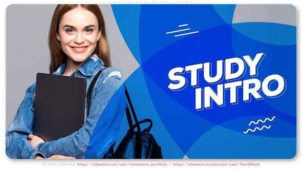 Videohive Education Blog Intro 27717265