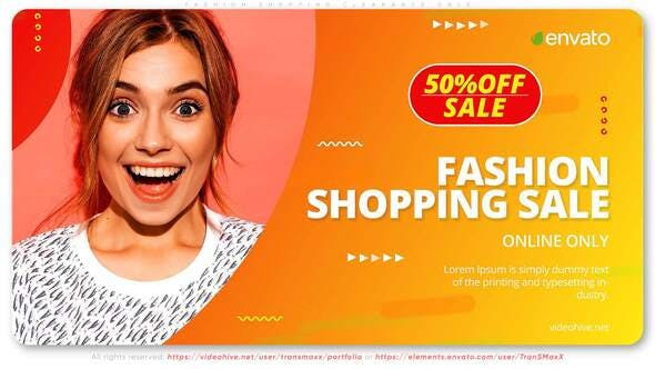 Videohive Fashion Shopping Clearance Sale 28983081