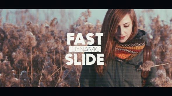 Videohive Fast Dynamic Glitch Slide 14354297