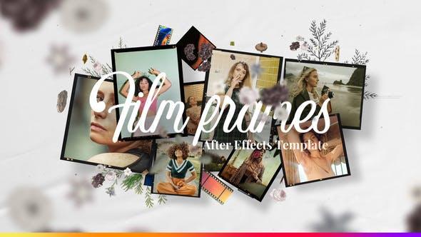 Videohive Film Frames - Modular Slideshow 27458721
