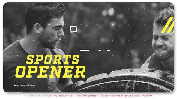 Videohive Fitness Sports Opener 28115894