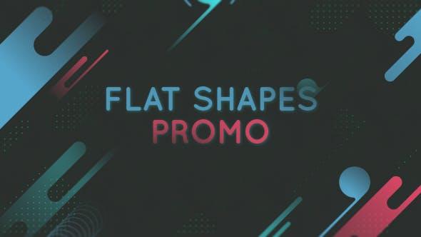 Videohive Flat Shape Promo 20461811