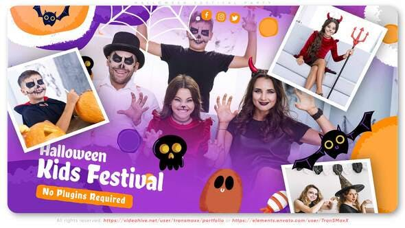 Videohive Halloween Festival Party 28944598
