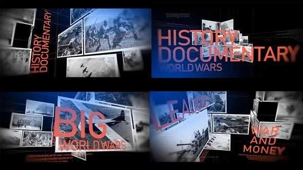 Videohive History Documentary Timeline 24132599