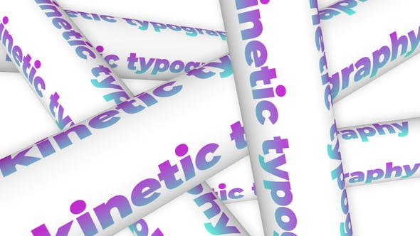 Videohive Kinetic Typography Posters 27750270