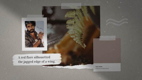 Videohive Memory Slideshow 25206930