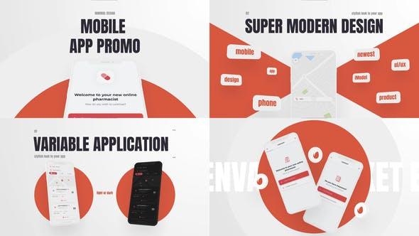Videohive Minimal App 28209030