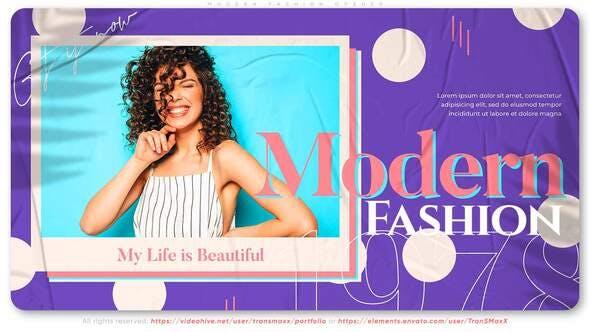 Videohive Modern Fashion Opener 28116166